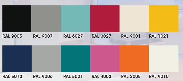 Constructiebedrijf staalhandel j vd velde zn ral kleuren - Kleur warm ...