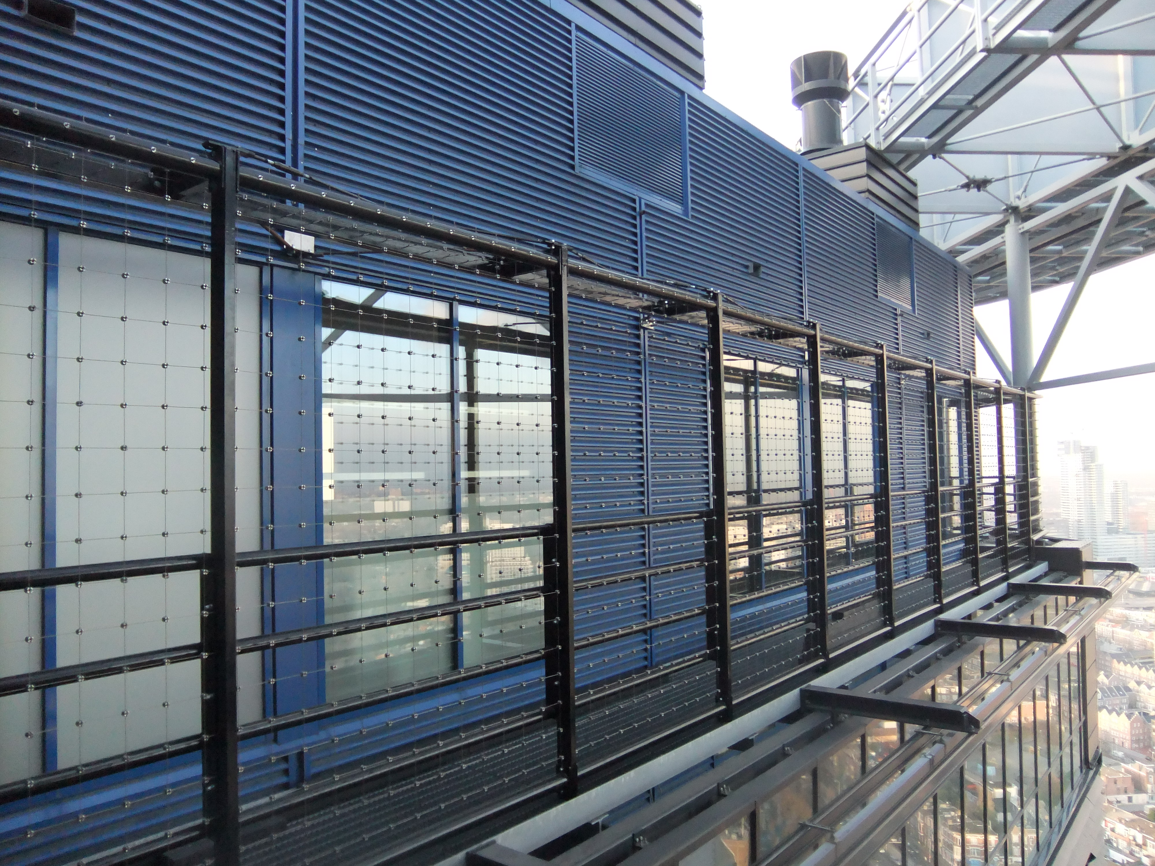 Constructiebedrijf staalhandel j vd velde zn foto 39 s div projecten for Terras strijkijzer